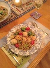 Linguine Dinner