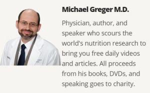 Dr Greger